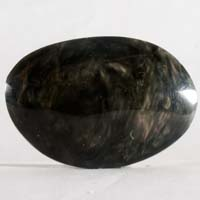cabochon obsidienne grise